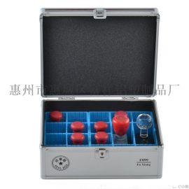 富祥 F099多功能印章盒印章箱收纳箱私章盒