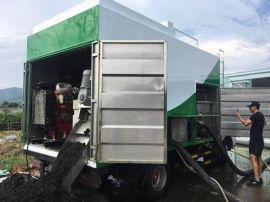 环保专用吸污车 分离式吸污车 出有机肥的吸污车