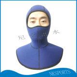 5mm氯丁橡膠披肩保暖防磨防護潛水頭套防護面罩