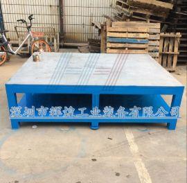深圳 辉煌HH-030 重型钢板工作台 模具装配台 车间飞模台 45#钢板钳工桌
