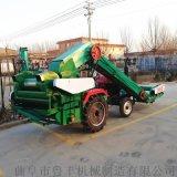 呼和浩特多缸拖拉機帶雙筒玉米脫粒機