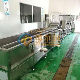 洗虾机 商用连续大型洗虾机 小龙虾超声波清洗机