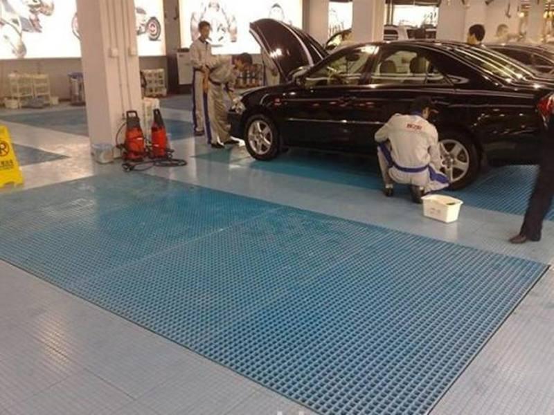 玻璃钢泳池格栅可设计性强