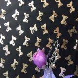 金箔蝴蝶涤纶烫金印花
