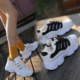 增高小白鞋新款超火运动鞋韩版旅游休闲鞋女鞋