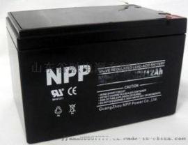 耐普蓄电池12V7.2AH铅酸免维护NP12-7.2 EPS/消防//UPS等优品销售特价