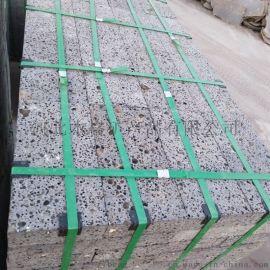 灰色火山石板 玄武巖板材 汗蒸房用火山巖板材