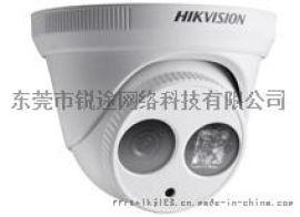 东莞监控公司_100万超低照度红外防水半球摄像机