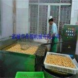 自动化油豆腐油炸加工设备 豆干/豆泡油炸机