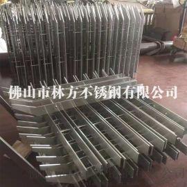 304不锈钢桥梁栏杆扶手 不锈钢实心栏杆立柱加工