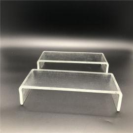 热销白色彩色蒙砂压延U型玻璃