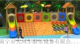 南寧訂做幼兒園攀爬體能訓練行走組合滑梯玩具在哪
