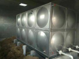 净水箱组合式玻璃钢消防水箱屋顶