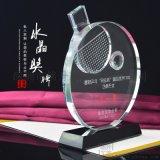 中國女子乒乓球賽獎品頒發水晶獎盃 來圖定製