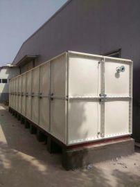 保温水箱玻璃钢热水箱 玻璃钢组装式水箱厂家