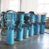 立式中吸潜水轴流泵安装图