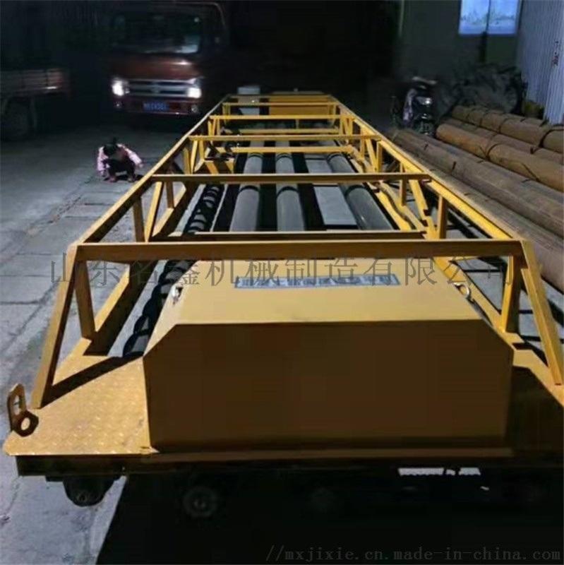 桥梁隧道摊铺机 水泥路面三滚轴摊铺机