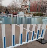 市政护栏大量现货 道路隔离反光条蓝红护栏 马路中央隔离栅栏栏杆