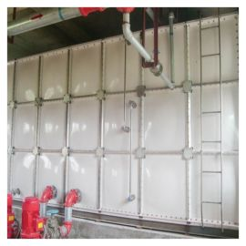 水箱凭祥 屋顶不锈钢 消防水箱美观整洁
