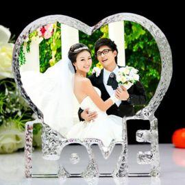 水晶奖杯定制定做 奖牌 授权牌 个性结婚纪念品 订做