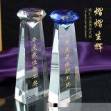 深圳活動獎盃定做,優秀員工水晶獎盃,獎盃禮品