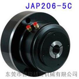 朝铨JAP206-5C四轴五轴数控车床大孔径气动卡盘