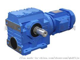 供应秦皇岛减速机机械设备_S系列斜齿轮蜗轮减速机