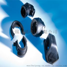 SVG软管连接件 波纹管直通接头 安装便捷尼龙材质
