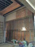 透明水晶门 冲孔电动门 镀锌卷闸门 不锈钢伸缩门