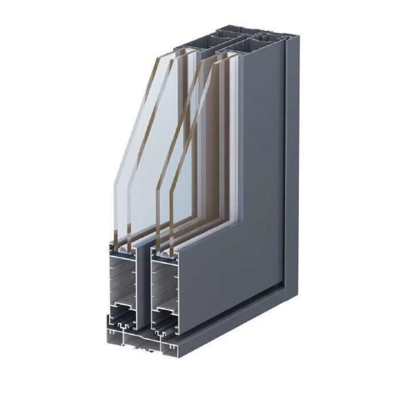 简约定制80系列铝合金推拉窗
