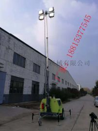 河北邯郸轮式照明车9米可升降4*1000W功率大