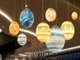 發光球體月亮燈地球燈