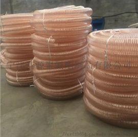 机械除尘PU钢丝管A隐形连接件专用机配套钢丝管