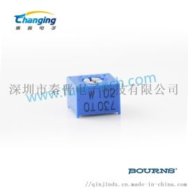 bourns微调电位器 3362W-1-102LF