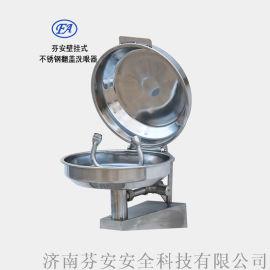 翻盖洗眼器 挂壁式翻盖洗眼器+FA不锈钢翻盖洗眼器