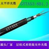 太平洋光缆 室外通信光缆  管道光缆 GYTA53