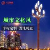 AE照明AE-ZHJGD-01 中華玉蘭燈廠家直銷戶外道路照明led玉蘭燈 20-40w帶杆8-12米節能中華景觀燈