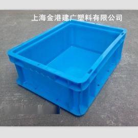 供应 塑料物流箱 400*300*148 塑料周转箱 EU汽车配件储物箱