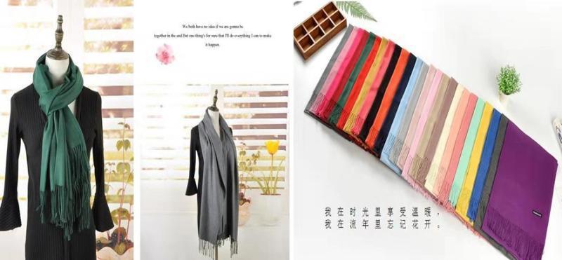 上海知名品牌女装折扣店羊 绒围巾2018特价货源批发市场
