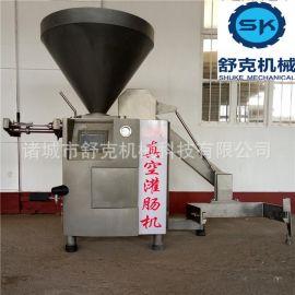 台湾烤肠灌肠机 香肠全套生产设备 鳕鱼肠机器 自动定量灌肠机