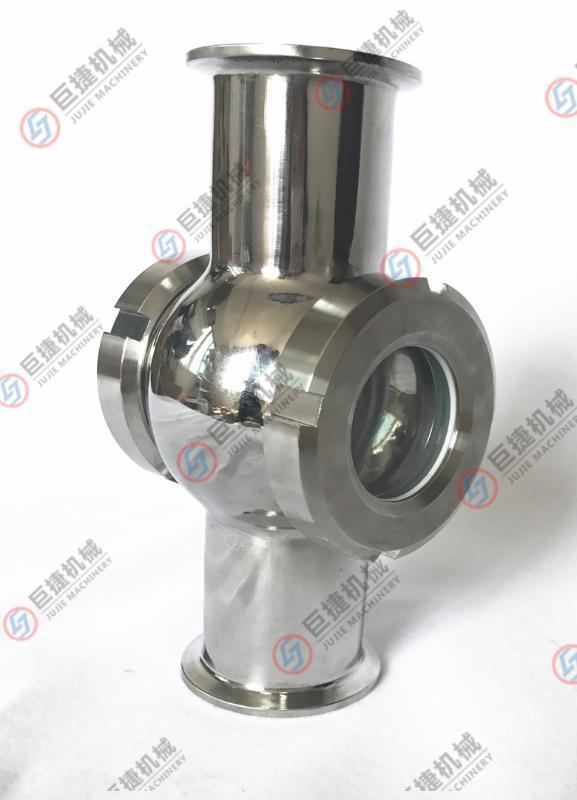 巨捷專業生產焊接四通視鏡 活接四通視鏡,活接視鏡