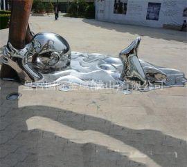 、铜雕人物 金属工艺品 工程标志 不锈钢雕塑