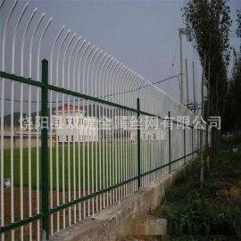 小区锌钢护栏网 铁艺围栏 方管栅栏实体制造工厂直销