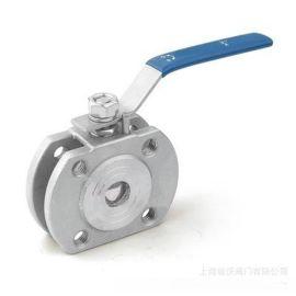 泰科阀门 不锈钢Q71F对夹式球阀 Q71F型对夹式超薄球阀