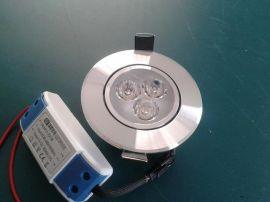 LED3W贴片天花射灯 商照 家居照明通用