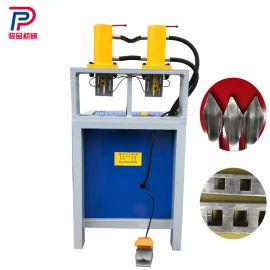座椅方管冲弧机 不锈钢管材冲孔机 铁艺栏杆冲孔机