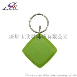 2号钥匙扣门禁卡 RFID射频T5577考勤卡