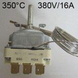 EGO三相電溫控器 350度可調節商用烤箱熱保護  55.34062.010