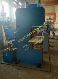 150t青岛鄂式7米超长橡胶自动 化机液压鄂式平板 化机