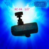 """管式单向节流阀 KC-04 口径1/2"""" 节流阀 KC流量控制阀 调节阀"""